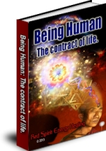 Being Human: The contract of life, an eBook by Mark Pasley from Red Spirit Energy Healing.