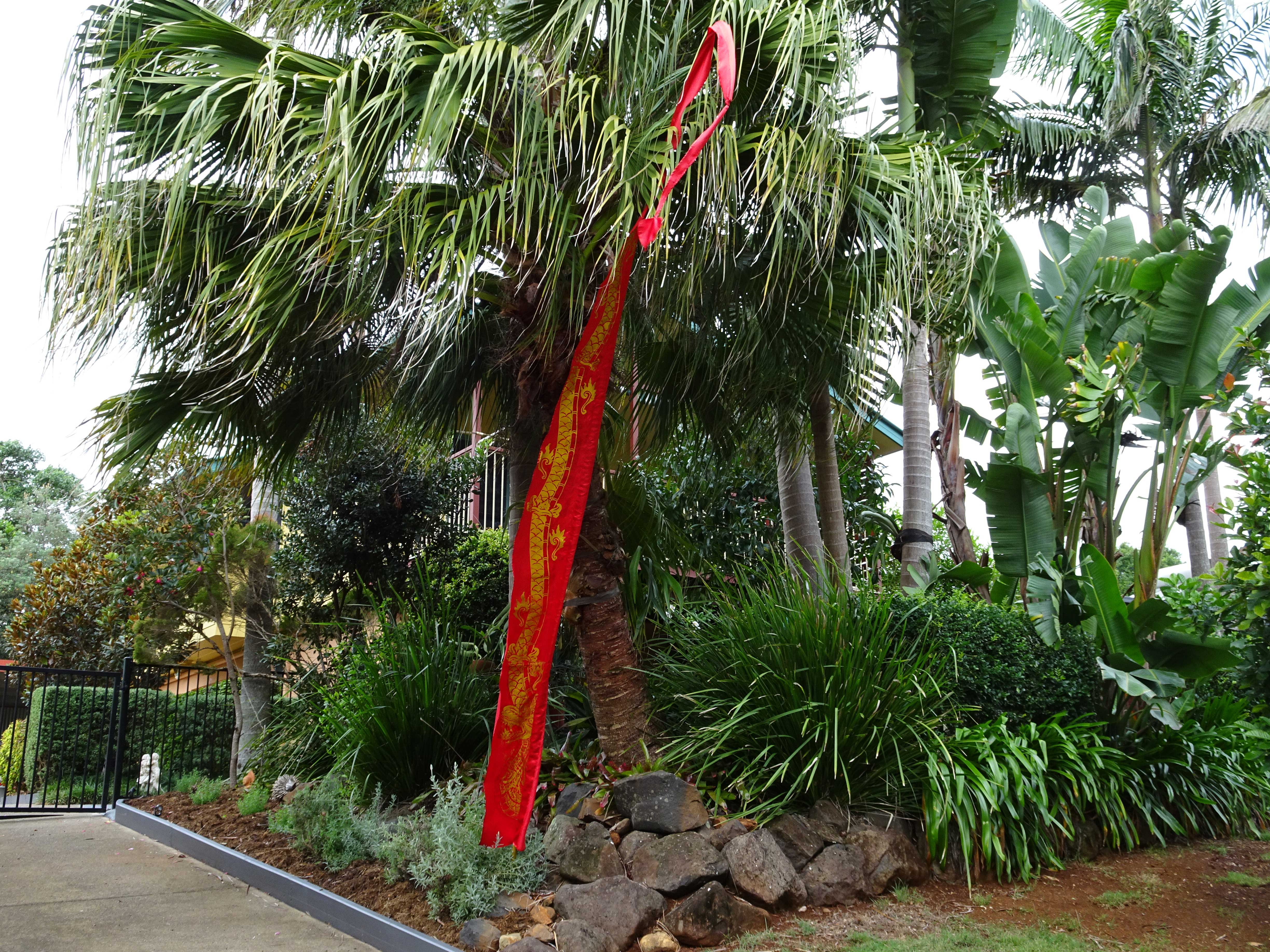 Look for the flag when you visit Red Spirit Energy Healing at Flaxton.