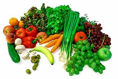 To maintain health, the diet should consist of 60% alkalising foods.