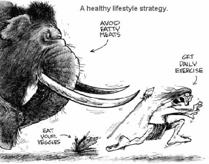 A healthy lifestyle strategy...back to basics.