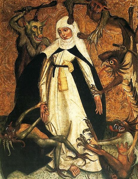 St. Catherine of Siena Besieged by Demons.