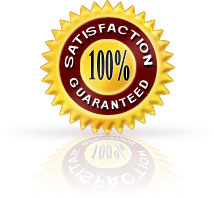We offer a full money back guarantee if you are not satisfied with our product for whatever reason.