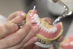 Mark spent many years as a dental technician.